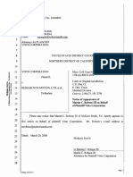 Visto Corporation v. Research in Motion Limited - Document No. 14