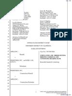Apple Computer, Inc. v. Podfitness, Inc. - Document No. 108