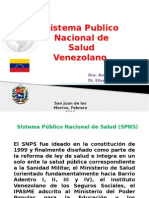El Sistema de Salud de Venezuela