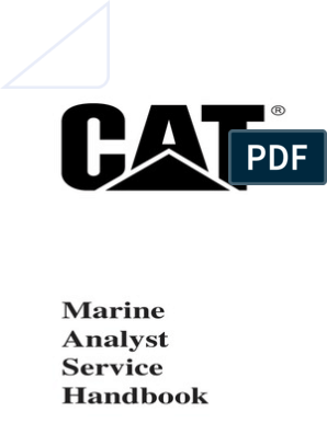 61055638 Caterpillar Marine Analyst Hand Book | Propeller
