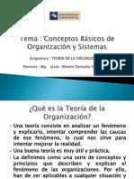 SEPARATA 1 Conceptos Básicos de Organización y Sistemas