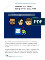 My E-mail appears as a spam - Introduction | Office 365 | Part 1#17