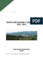 Plan de Desarrollo Soat 2012 2015 1