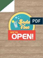 Soda Vine PR Campaign