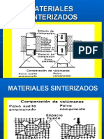 MATERIALES  SINTERIZADOS
