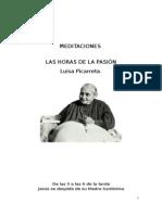Las Horas de La Pasión-Luisa Picarreta