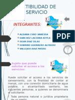 Factibilidad de Servicio