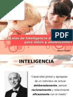 Escalas de Inteligencia de Wechsler Para Niños y