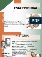 Analgesia Epidural