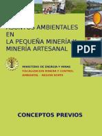 Asuntos Ambient.mineria Artesanal