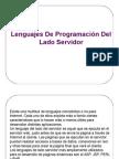 2.3 Lenguajes de Programación Del Lado Servidor