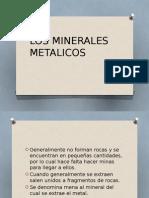 Los Minerales Metalicos