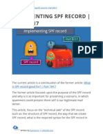 Implementing SPF record | Part 8#17