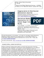 Cogeneration & Distributed Generation Journal Volume 25 Issue 1 2010 [Doi 10.1080_15453661009709860] Javalagi, C. M.; Patil, H. R.; Bhushi, U. M. -- Statistical Modeling of Steam Generation for Coge