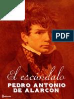 El escándalo de Pedro Antonio de Alarcón