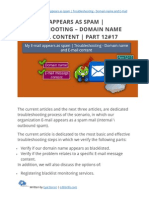 My E-mail appears as spam | Troubleshooting - Domain name and E-mail content | Part 12#17