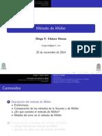 Método de Muller