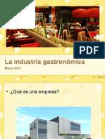 empresas gastronómicas