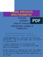 Flame Emission Spectrometry