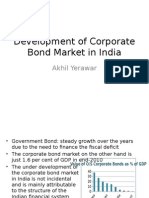 Development of Corporate Bond Market in India