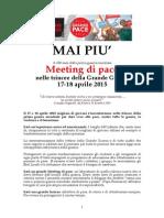 Meeting Di Pace 2015