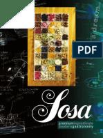 Ingredientes Premium Gastronomía Moderna (Catalogo Sosa) (2014)