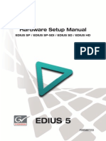 Edius Hw Setup Manual Sp Sd Hd