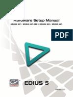 Edius Hw Setup Manual Sp Sd Hd
