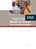 Sudan Media Assessment