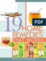 19 Home Remedies