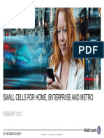 Alcatel Femto - Small Cells for Home, Enterprise and Metro