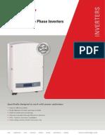 Se Three Phase Inverter Datasheet