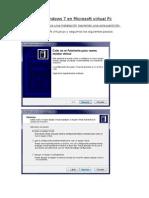 Tutorial Instalaciones Windows 7 Ultimate en Microsoft Virtual