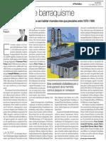 Un Segle de Barraquisme. Ramon Folch. El Periódico 12-4-2015