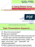 2014 Consumer Coping Behavior Survey - GENERAL PRESENTATION (5Mar2015)