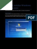 Tutorial Instalar Windows 7 Paso a Paso