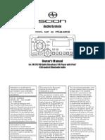 Pioneer Audio Owner Manual