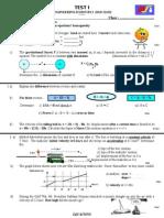 engineering science 1 TEST 1