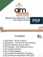HK Company Ppt AM