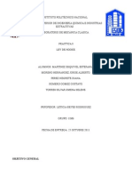 Trabajo Mecánica Clásica. Ley de Hooke (2)