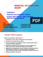 TEORI AKUNTANSI - Teori Akuntansi Positif