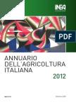 Annuario Agricoltura Italiana 2012