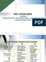 ISO 17025 Tambahan Bagan