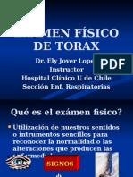 examen fisico de torax