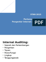 Pertemuan 1 - Pengantar Internal Auditing
