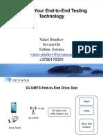 AQuA End to End Drive Testing Technology (VoLTE, VoWiFi, RCS)