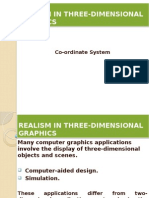 Realism in Three-dimensional