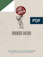 Bl Drinks Menu