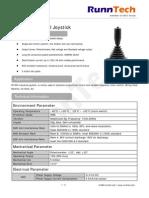 Joysticks for Hoist & Crane Control Systems