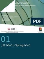 Presentacion JSF 0 Spring MVC
